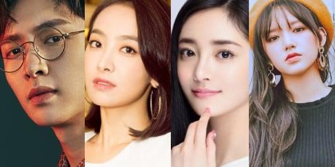 Cheng Xiao, Meiqi, Xuanyi, EXO, Lay, f(x), Victoria, Kyulkyung