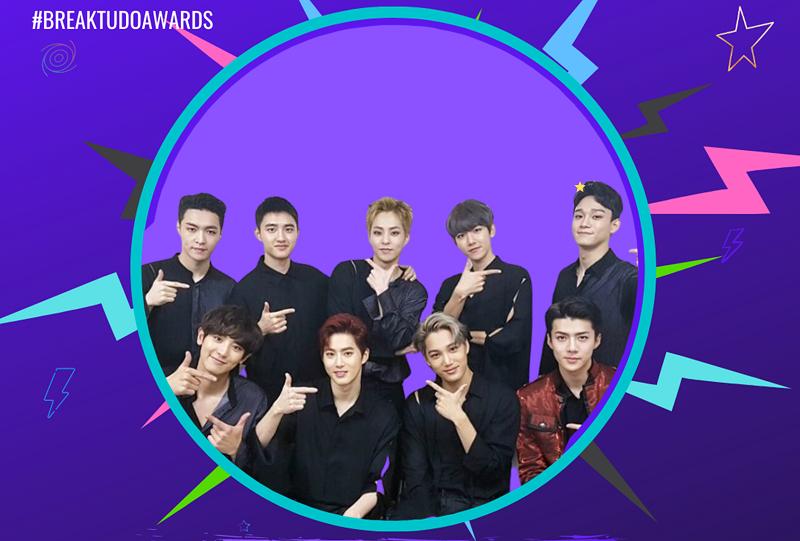 BreakTudo Awards 2020: EXO wins in the Best International Group category at the international awards