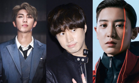AB6IX, GD&TOP, Zico, RM (Rap Monster), Tablo, Chanyeol, Jackson, Jay Park, Jooheon, Mark, Changbin, Song Min Ho (Mino)