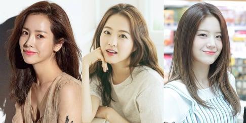 Lee Jin, fromis_9, Go Ara, Han Hyo Joo, Han Ji Min, Park Bo Young