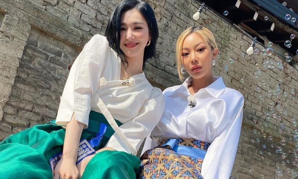 Tiffany Young And Jessi Show Off Close Friendship In Modern Hanboks During Jeonju Culture Trip Allkpop