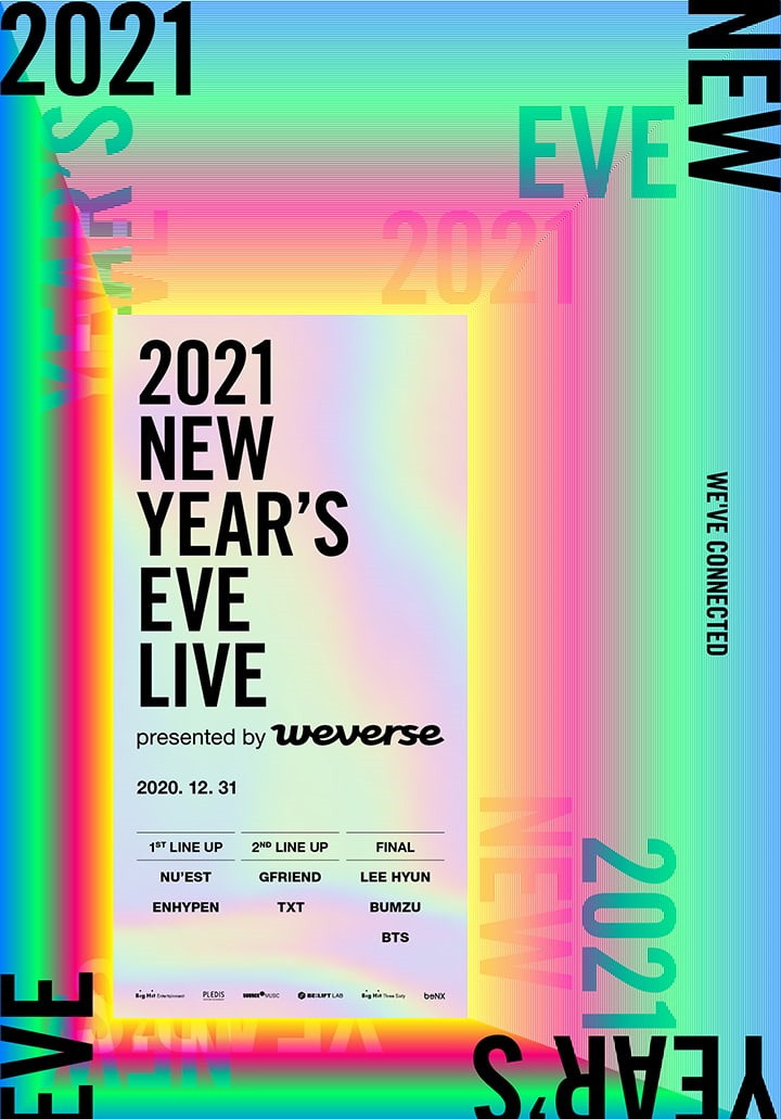 BTS, Lee Hyun, Bumzu & more featured in lineup for upcoming '2021 New Year's Eve Live' | allkpop