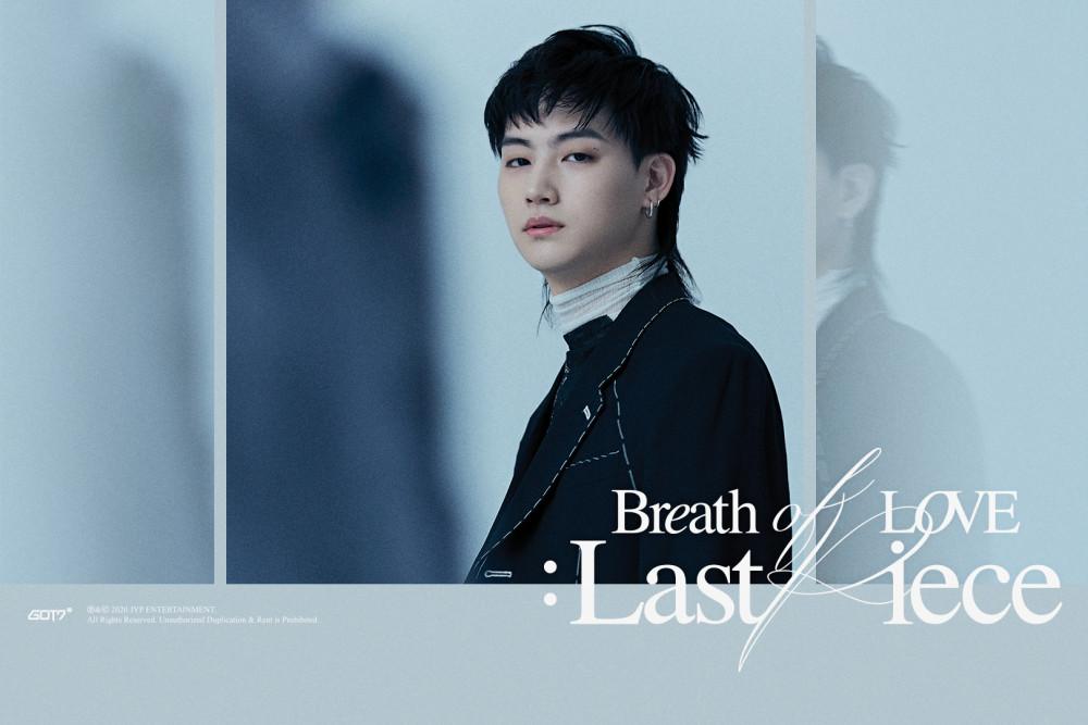 Breath of Love Last Piece GOT7 comeback glasses