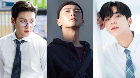 Gong Yoo, Ji Chang Wook, Kim Hyun Joong, Kim Soo Hyun, Kim Woo Bin, Lee Min Ho, Park Seo Joon, SF9, Rowoon
