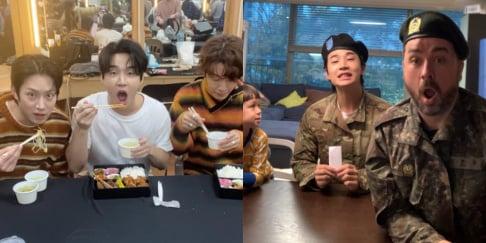 Jun Hyun Moo, Kim Soo Ro, Sam Hammington, Heechul, Donghae, Henry