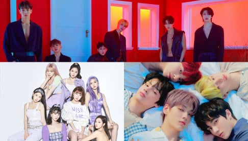 BTS, MONSTA X, Oh My Girl, TXT