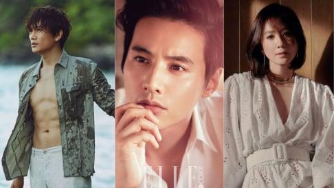 Ji Sung, Kim Ha Neul, Kim Hye Soo, Lee Byung Hun, Song Seung Hun, Won Bin