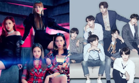 BLACKPINK, BTS
