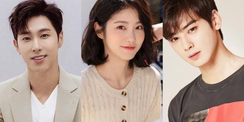 ASTRO, Cha Eun Woo, Shin Ye Eun, TVXQ, Yunho