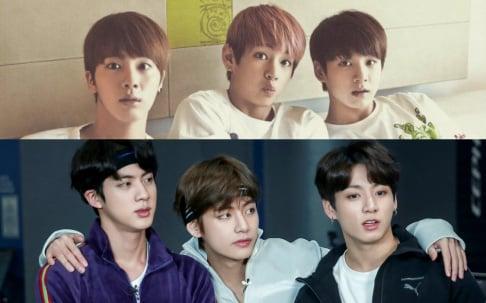 BTS, V, Jungkook, Jin