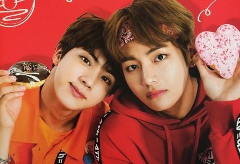 BTS, V, Jin