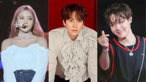 BTS, j-hope, Fin.K.L, Lee Hyori, Girl