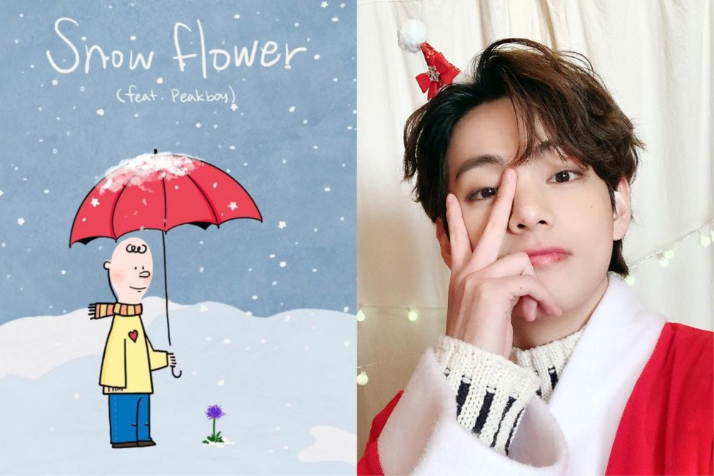 Taehyung Snow Flower: ARMY liked it