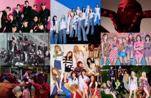 aespa, (G)I-DLE, GOT7, ITZY, IZ*ONE, Jessica, J.Y. Park, Kim Shin Young, Lim Young Woong, LOONA, MAMAMOO, Hwa Sa, MONSTA X, NCT, Norazo, Oh My Girl, Paul Kim, Rain, Stray Kids, Henry, The Boyz, TWICE, Uhm Jung Hwa, Kang Seung Yoon