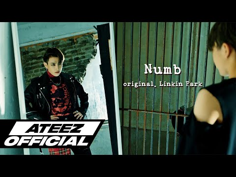 ATEEZ's Hongjoong Turns into rockstar on his Linkin Park's Numb cover |  allkpop