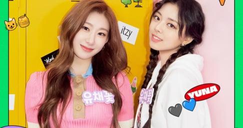 ITZY, Chaeryeong, Yuna