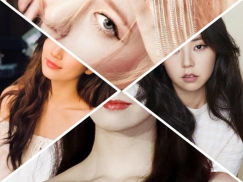Krystal, YoonA, Suzy, Sohee