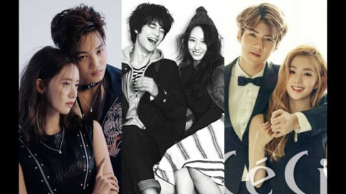 aespa, Winter, EXO, Sehun, Kai, Chanyeol, Luhan, f(x), Krystal, Girls