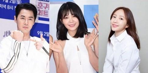 A Pink, Eunji, EXID, Hani, Park Myung Soo, Shinhwa, Junjin