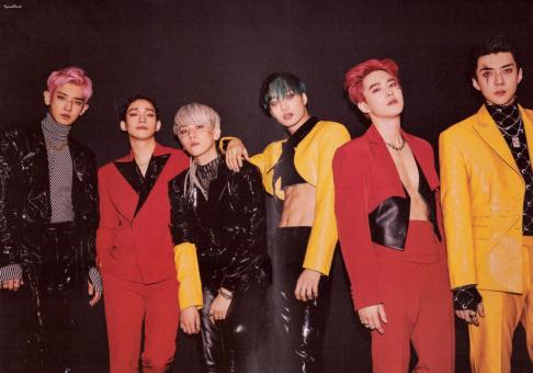 DinDin, EXO, Red Velvet, Samuel Kim, Shindong, Heechul, Eunhyuk, Donghae