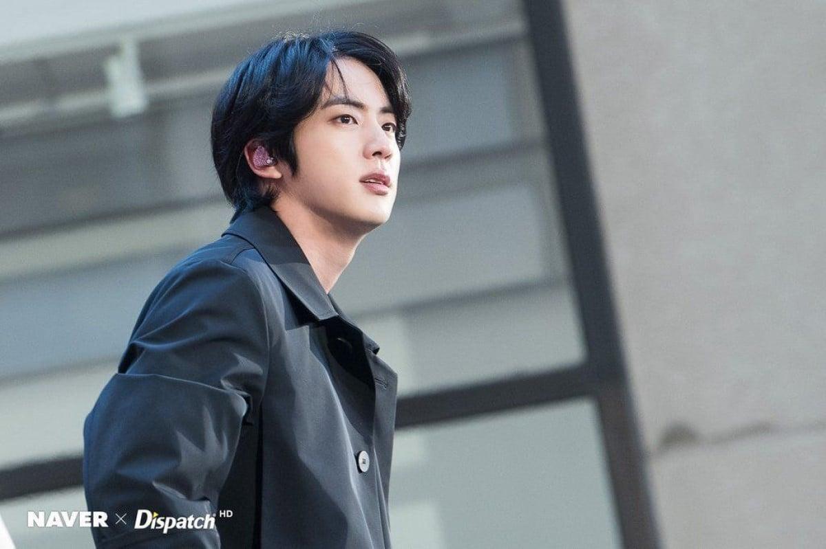 Netizens Swoon Over Bts Jin S Long Hair Allkpop