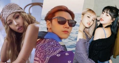 P.O., Eric Nam, (G)I-DLE, (Jessica H.o.) Jessi, WayV, Eunhyuk, Song Min Ho (Mino)