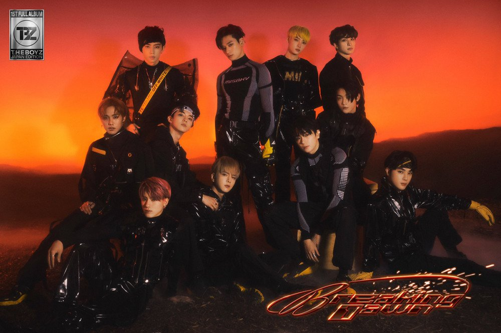 The Boyz release futuristic concept photos for their 'Breaking Dawn' Japanese comeback | allkpop