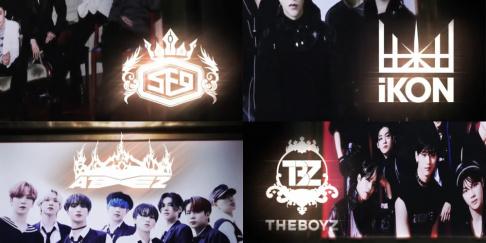 ATEEZ, BTOB, iKON, SF9, Stray Kids, The Boyz, TVXQ