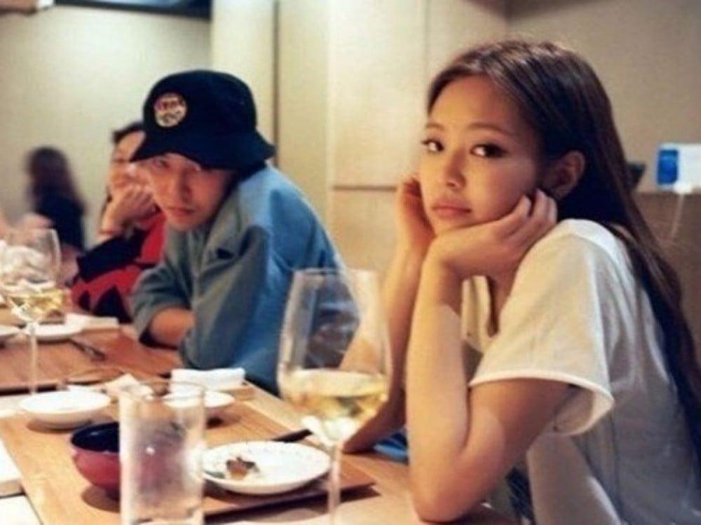 G-Dragon, BLACKPINK, Jennie