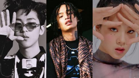 Giriboy, PALOALTO, Yoon Mi Rae, Zion.T