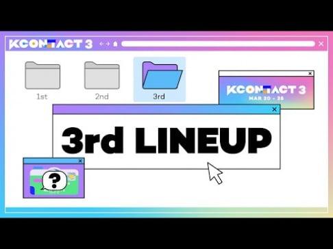 AB6IX, ATEEZ, LOONA, MAMAMOO, P1Harmony, SF9, Sunmi, TOO, Lee Jin Hyuk, Kang Daniel, HyunA