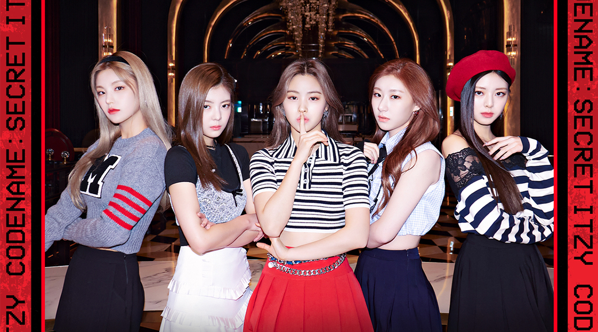 ITZY members turn into lovely secret agents in teaser posters for  'Codename: Secret ITZY'