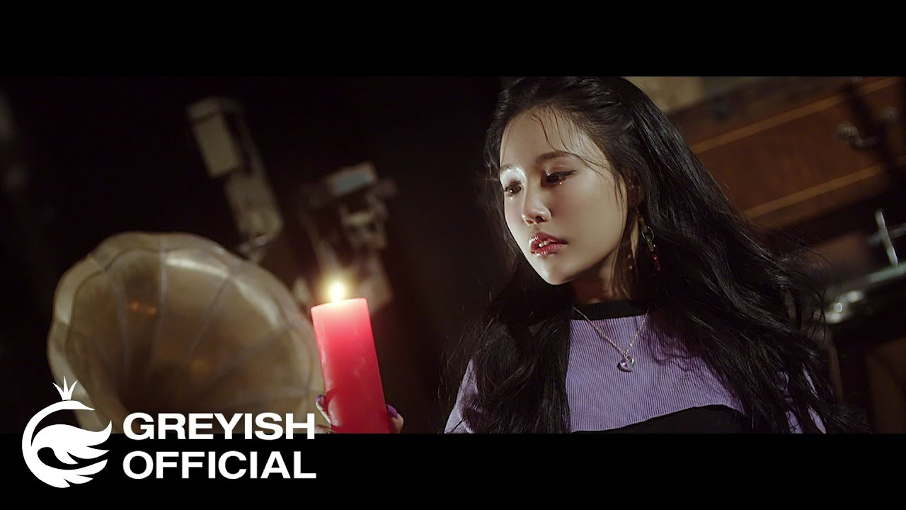 G-reyish's Hyeji plays with the dark arts in 'Blood Night' MV teaser |  allkpop
