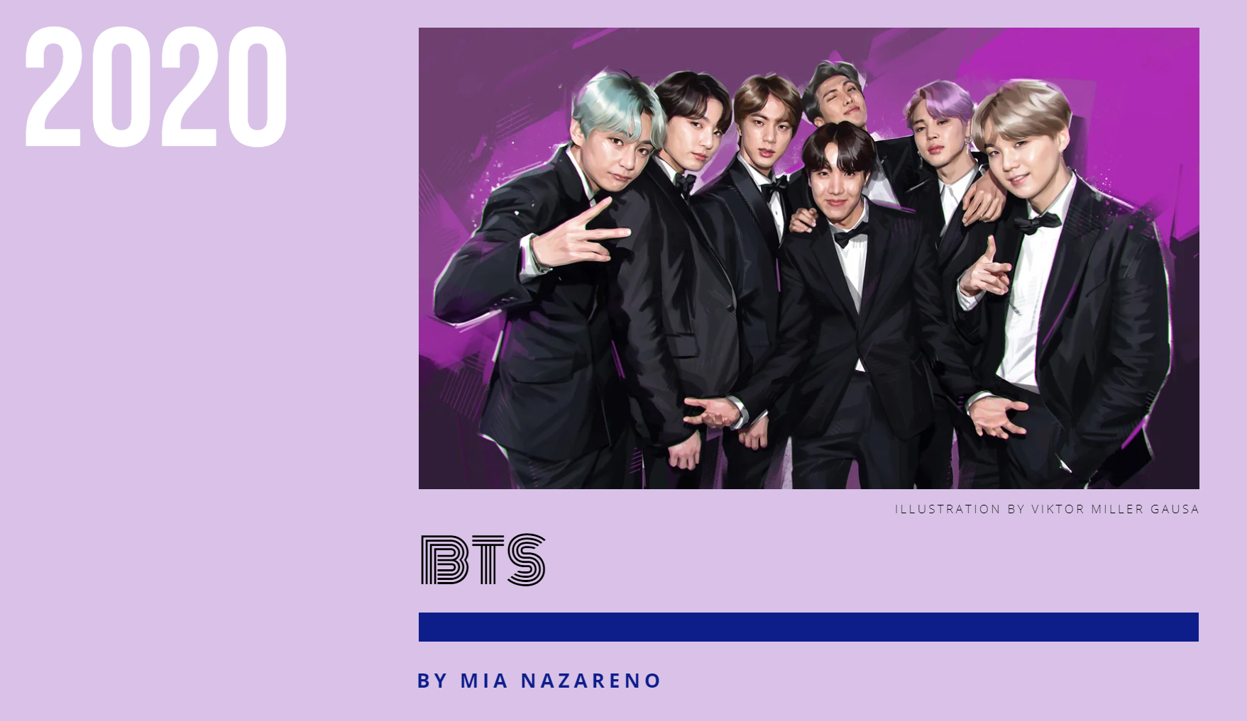 Billboard chooses BTS as the 'Greatest Pop Star' of 2020