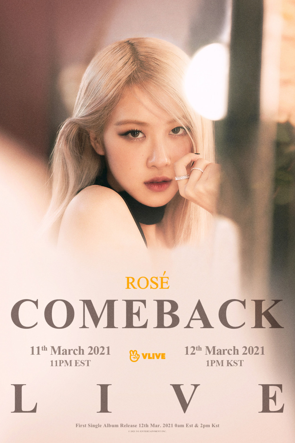BLACKPINK's Rosé reveals new poster for her solo debut