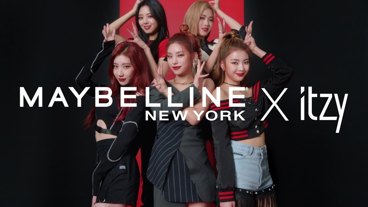 ITZY become 1st Korean idols to act as global brand models for 'Maybelline New York' | allkpop