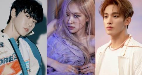 Rose, Chen, Yuqi, Doyoung, Wendy, DK, Kyuhyun