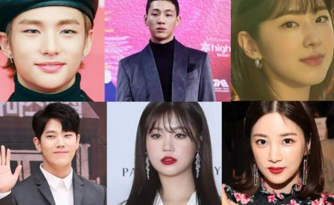 A Pink, Chorong, April, Ji Soo, Jo Byung Kyu, Somin, Kim Dong Hee, Park Hye Soo, Stray Kids, Hyunjin