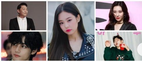 Jennie, Zico, V, Psy, Sunmi