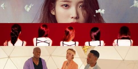 Rose, Brave Girls, BTS, IU