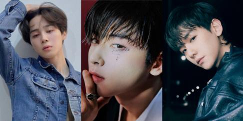 Cha Eun Woo, Jimin, Baekhyun