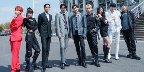 Boom, Kai, Jangjun, IZ*ONE, (Mijoo) Lee Mi Joo, Seungkwan, Eunhyuk, Ravi
