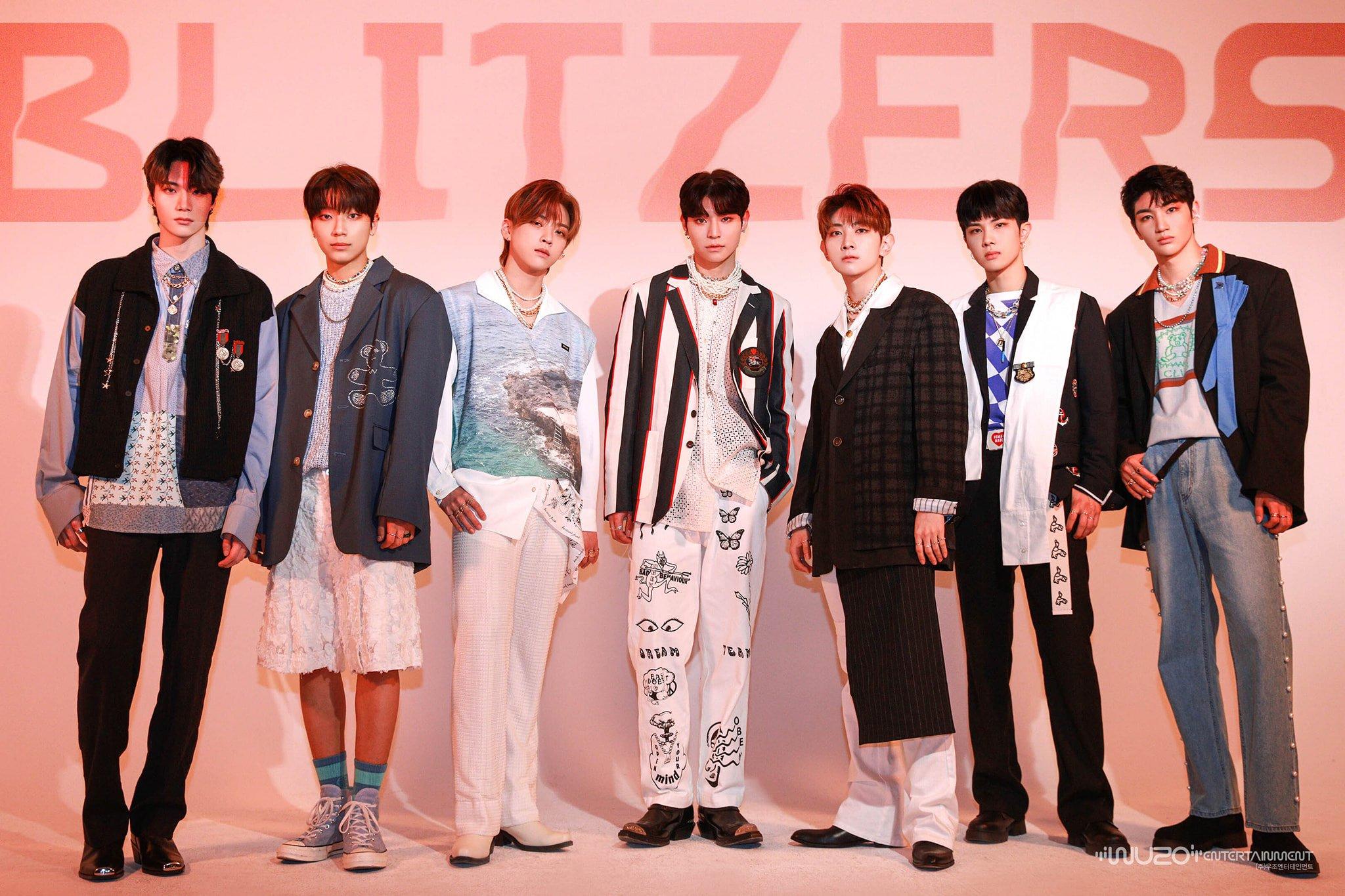 Upcoming boy group BLITZERS reveals debut mini-album cover image | allkpop