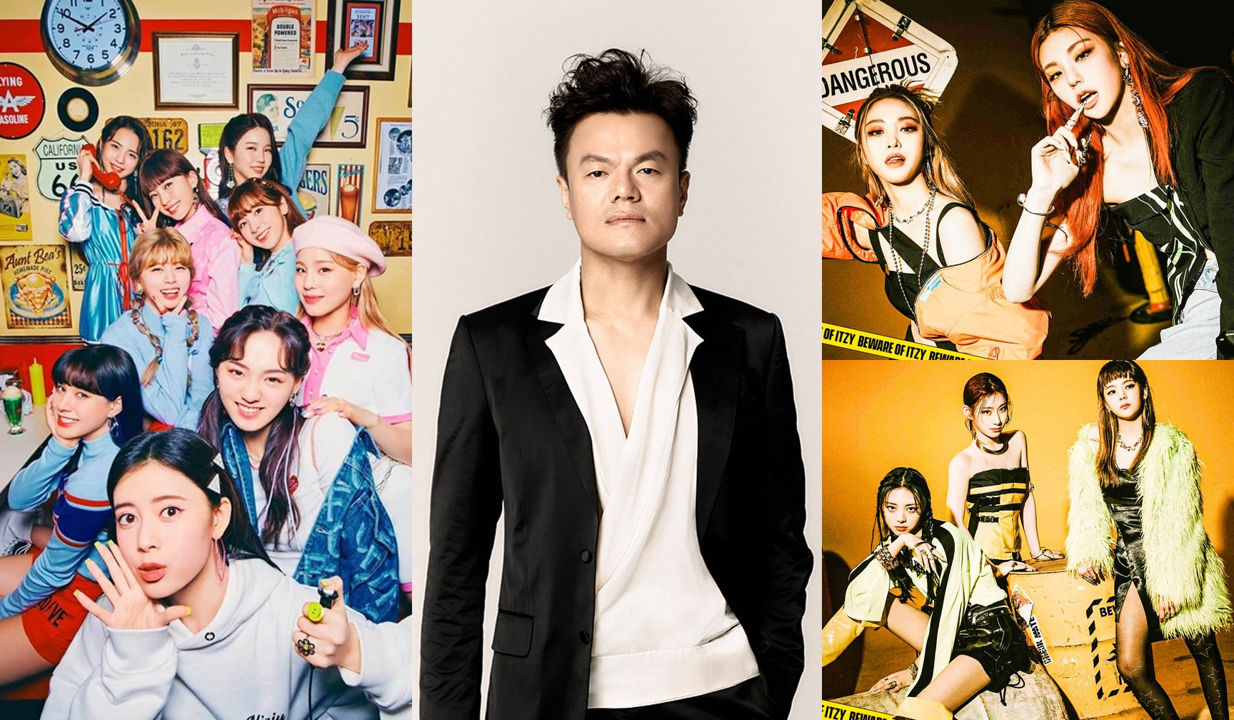 Netizens comment that J.Y. Park is great at producing cute concept songs but isn't suitable for girl-crush concept songs
