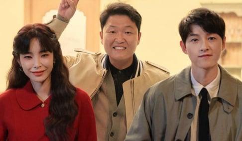 Heize, Psy, Song Joong Ki