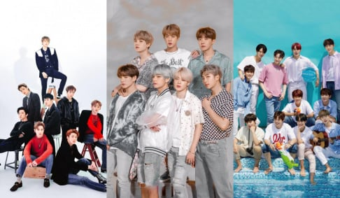 BTS, EXO, Wanna One