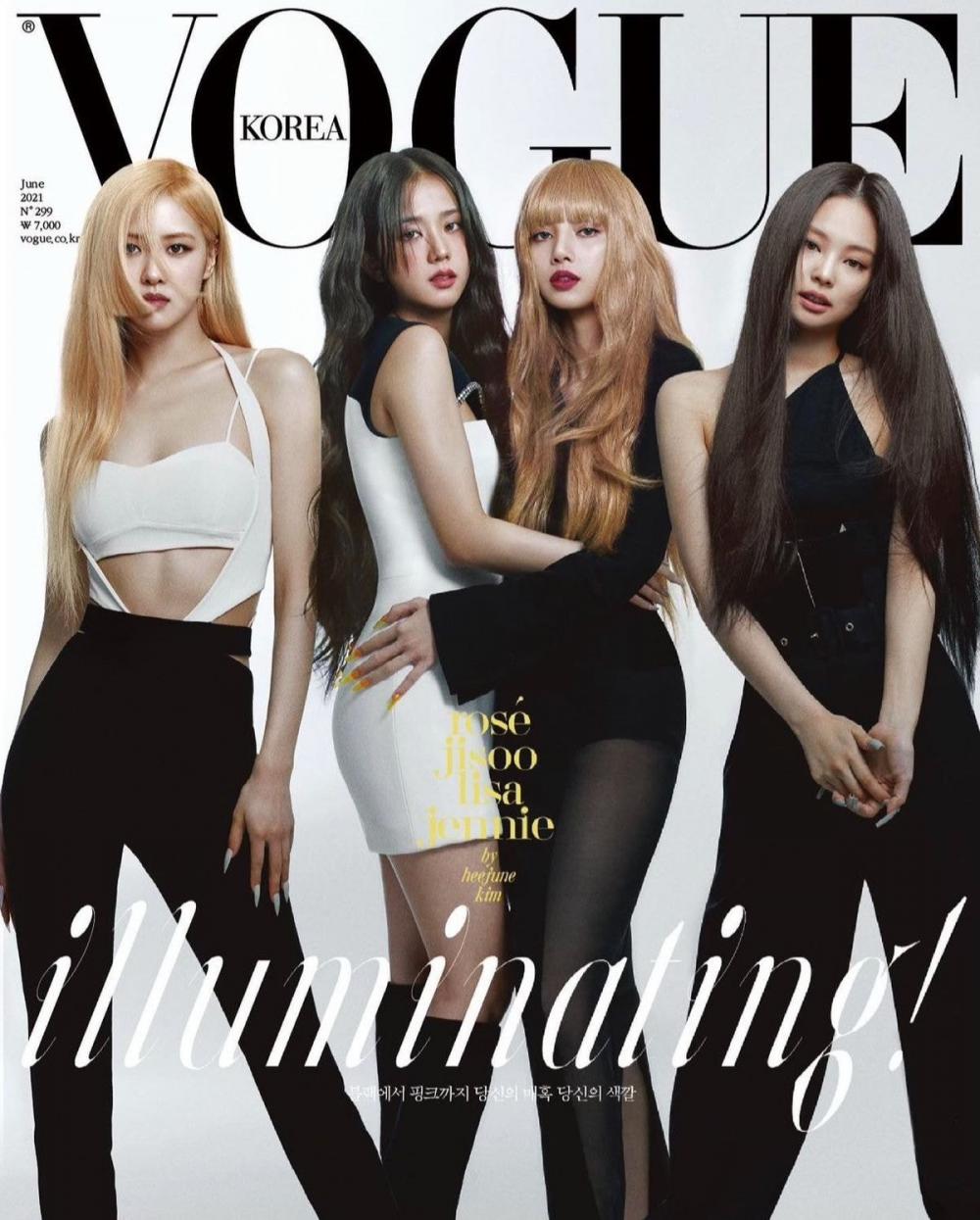 Участницы BLACKPINK на обложке журнала VOGUE Korea | YESASIA