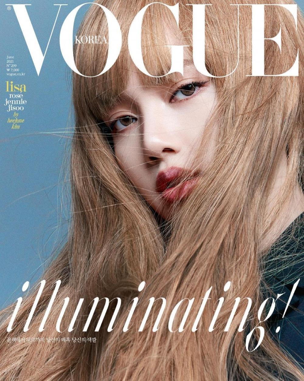 BLACKPINK Illuminate The Various Covers Of VOGUE Korea Magazine