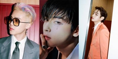Cha Eun Woo, BTS, V, Jungkook, Jimin