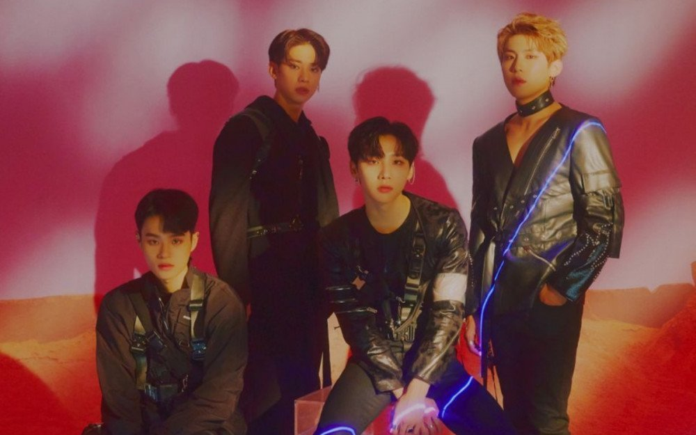 AB6IX drops futuristic group and individual concept photos for UNIVERSE  special single 'Gemini' | allkpop